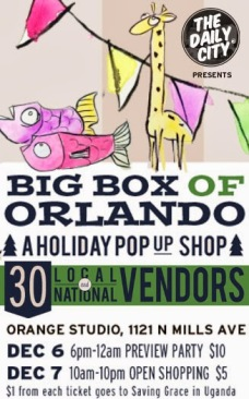 Big Box of Orlando Holiday Pop Up Shop