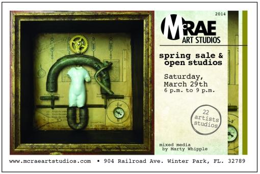 front, postcard, McRae Spring 2014