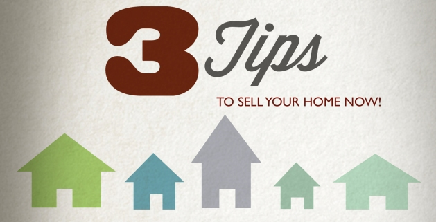 3 tips to sell now